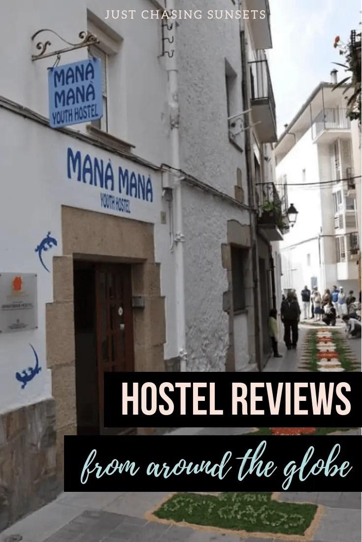 hostel reviews around the world