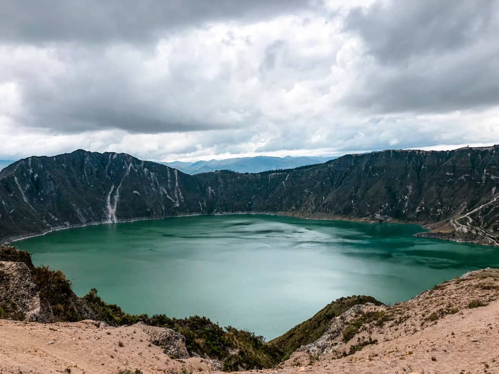Quilotoa Crater Lake