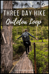 three day hike: quilotoa loop