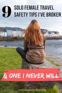 9 solo female travel safety tips