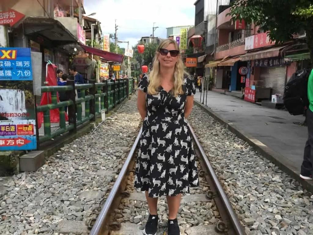 Helen Foster exploring Taipei