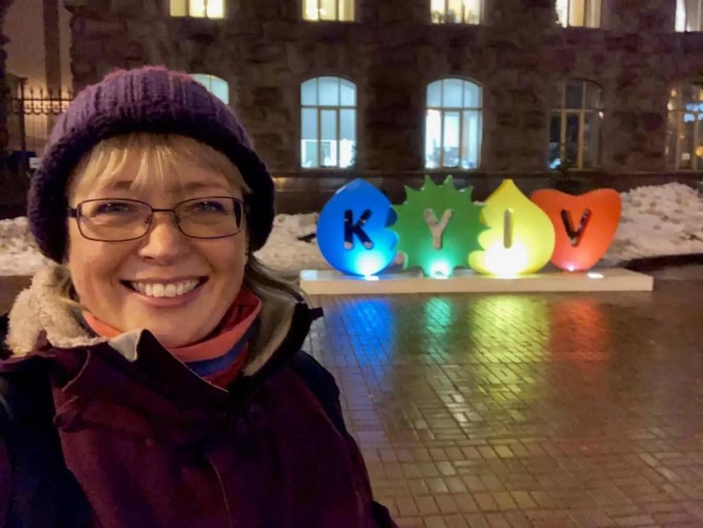 Jill in Kieve!