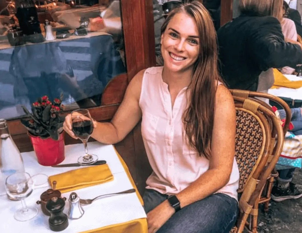 Eating alone in Paris