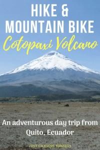 hike & mountain bike Cotopaxi volcano
