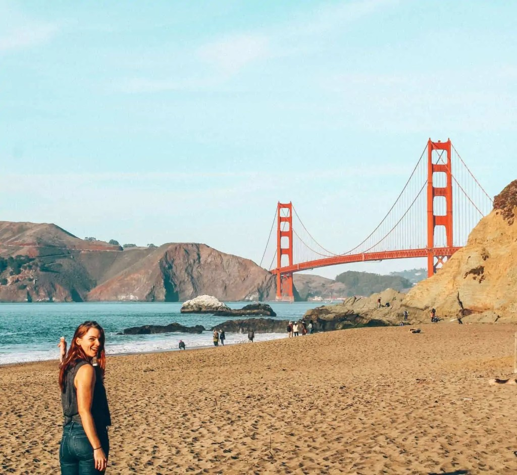 The Golden gate is a bucket list for many