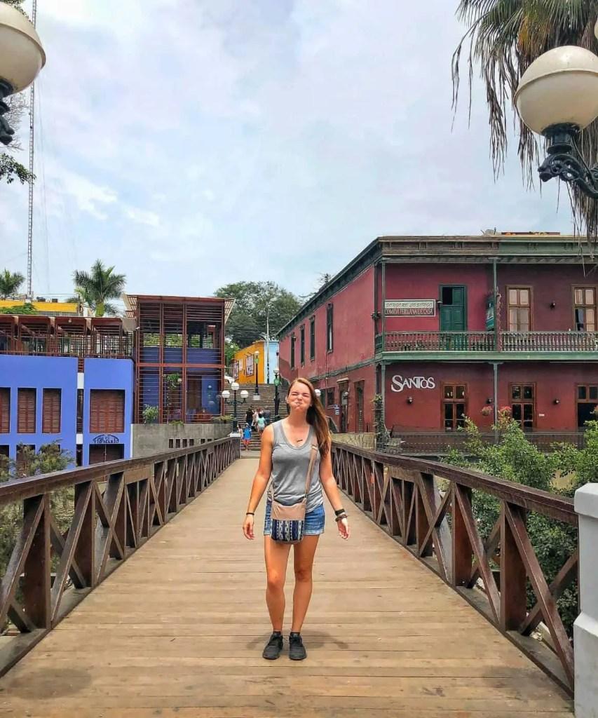 Visit Barranco in Lima Peru