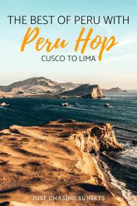 the best of Peru with Peru Hop