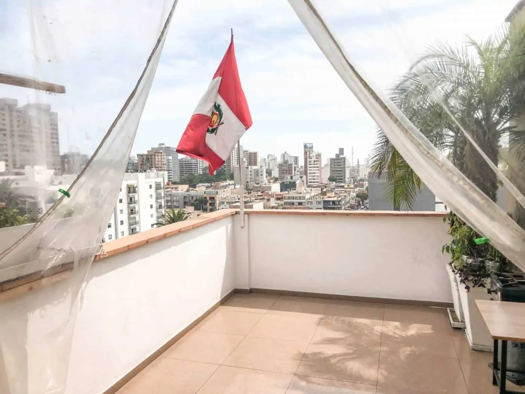 The view of Lima from Skykitchen