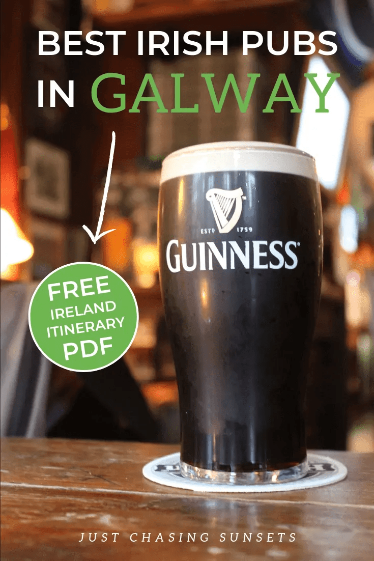 Galway is known for its pubs! These are the best pubs in Galway, Ireland to listen to live music and enjoy a pint.
