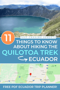 11 Things to Know about the Quilotoa Trek in Ecuador