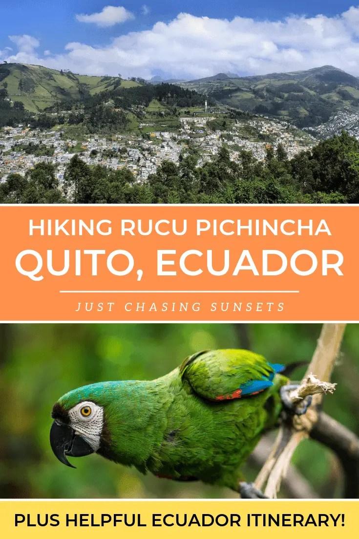Hiking Rucu Pichincha in Quito, Ecuador
