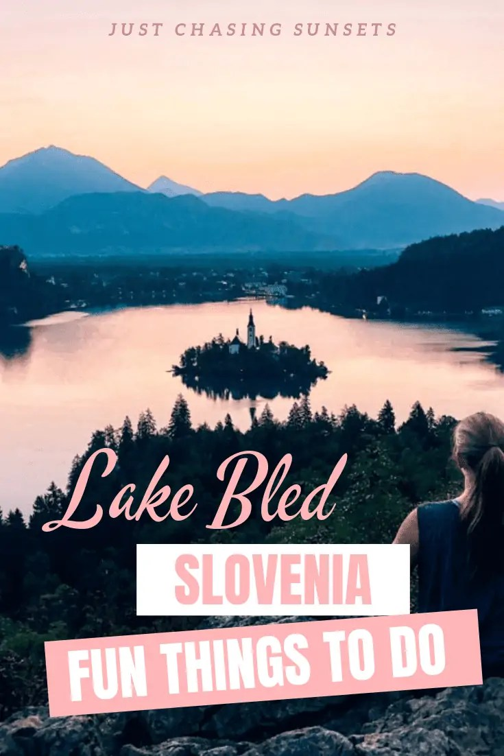 Travel to beautiful Lake Bled, Slovenia to swim in lakes, chase waterfalls, and hike through mountains. There is no shortage of things to do in Lake Bled, Slovenia.