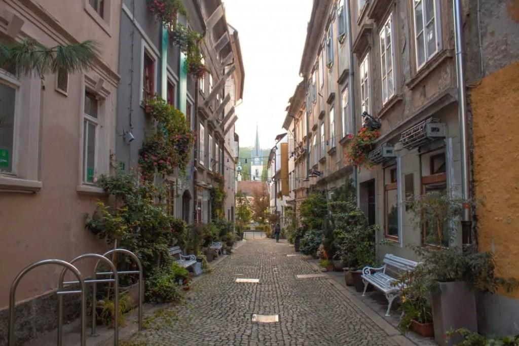 The streets of Ljubljana are just so freakin cute!
