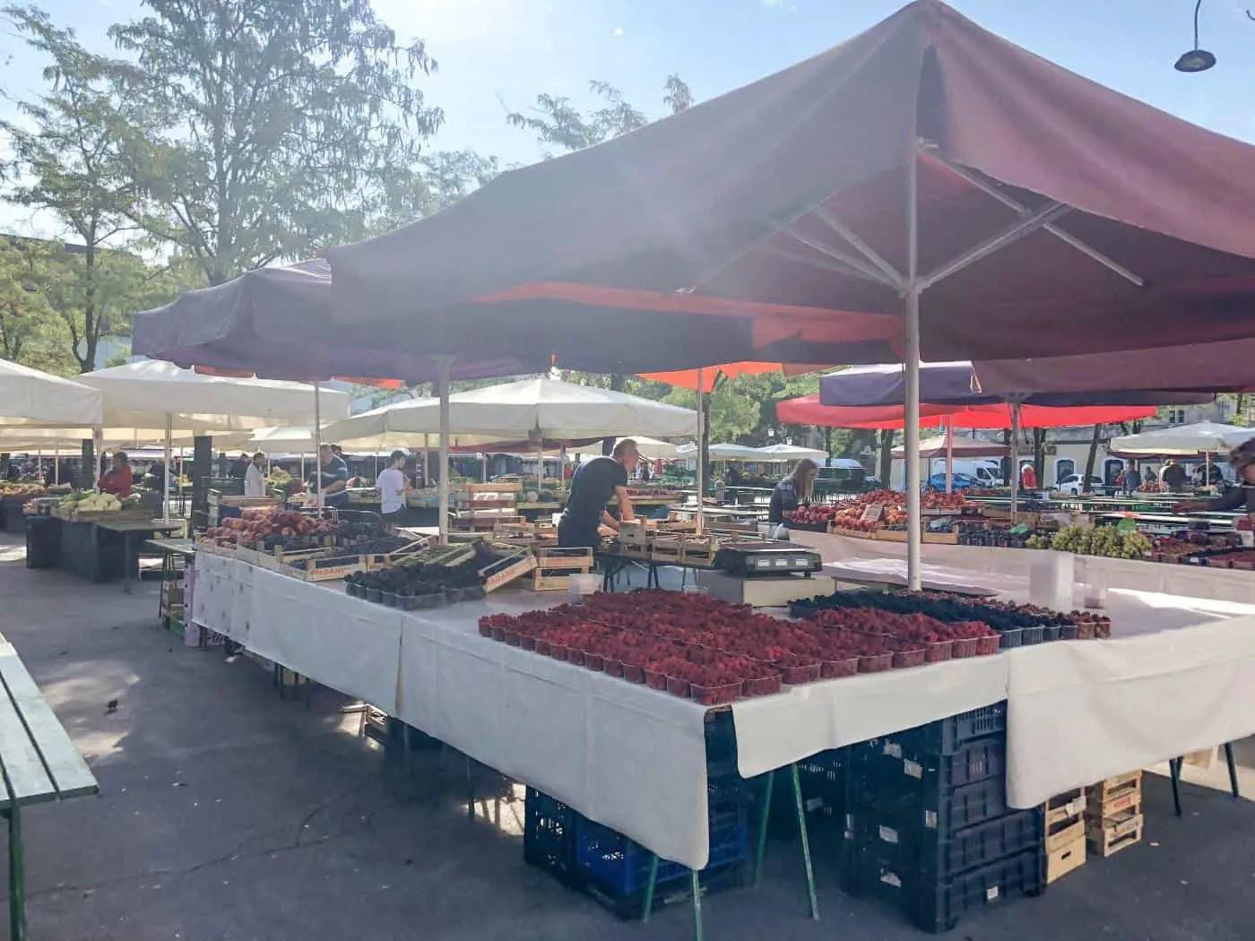 Central Market in Ljubljana