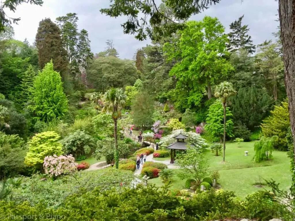 Powerscourt Gardens County Wicklow, Ireland by Fiona