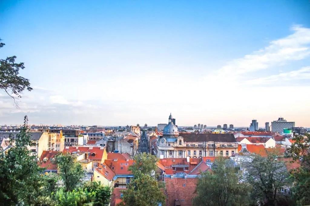 One day in Zagreb Croatia Itinerary