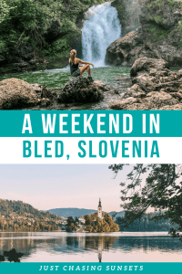 The most fun things to do in Lake Bled, Slovenia in a weekend. Swim in Lake Bled, Hike to waterfalls, and witness a stunning sunrise.