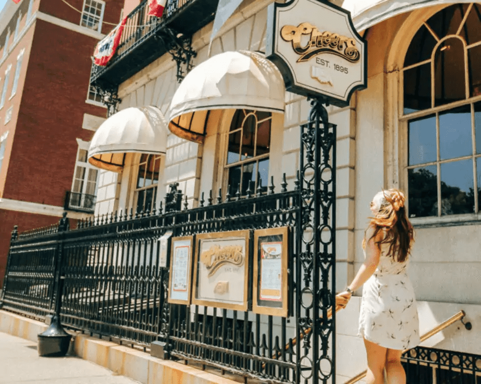 Stop by Cheers during your day in Boston
