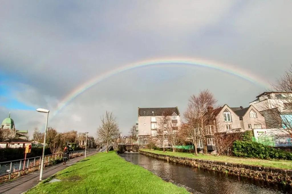 Galway, Ireland after rain