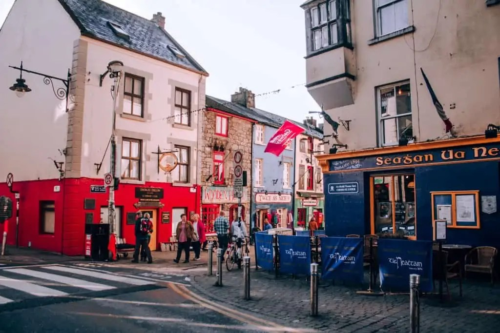 The shops of Galway's Latin Quarter