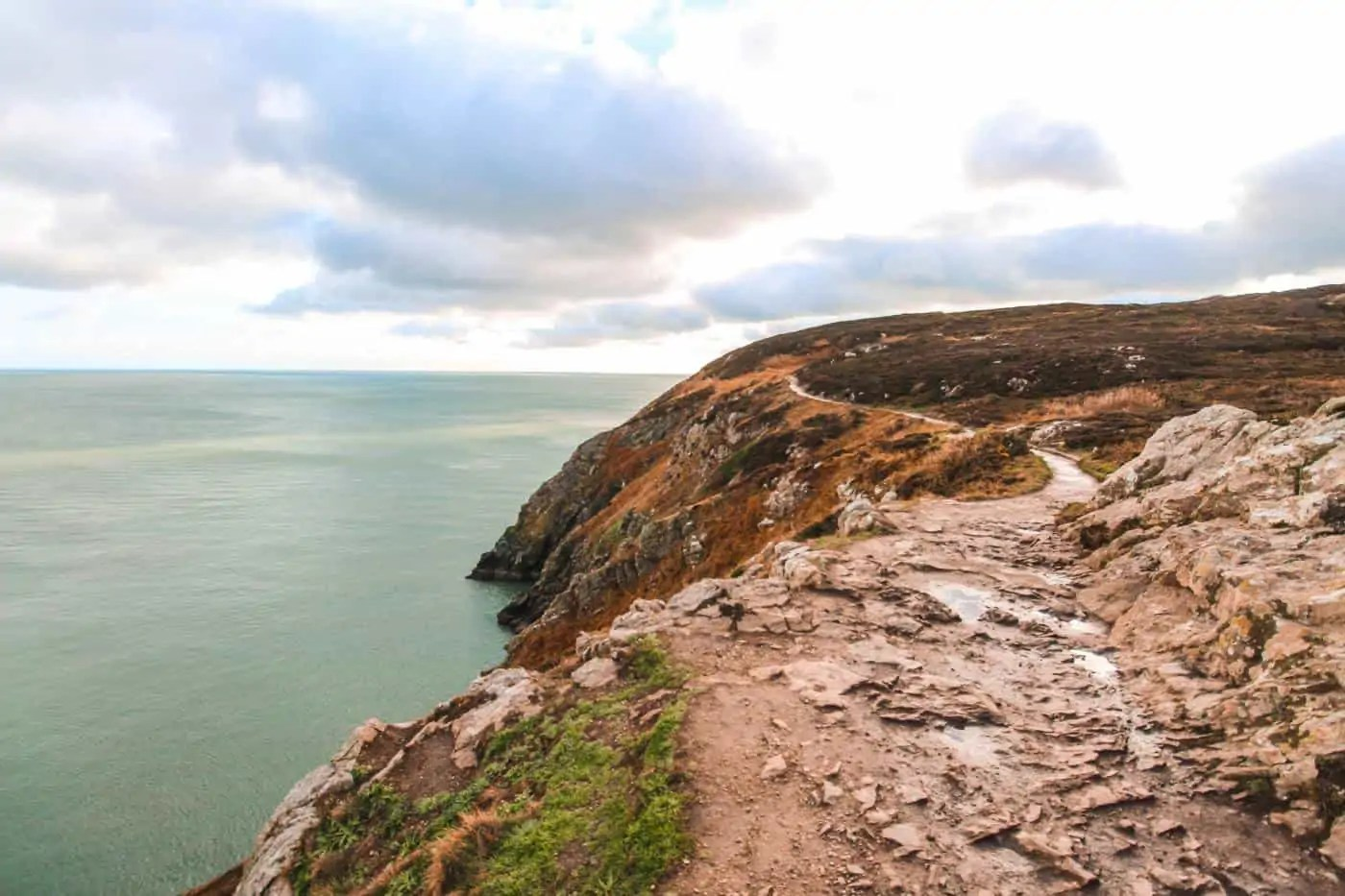 views of the Howth Cliff Walk