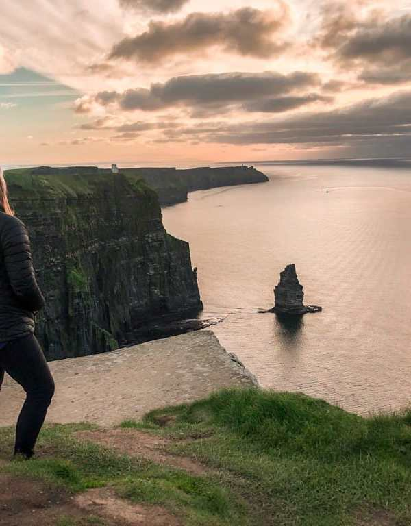 A Sunset Coastal Walk from Doolin to the Cliffs of Moher