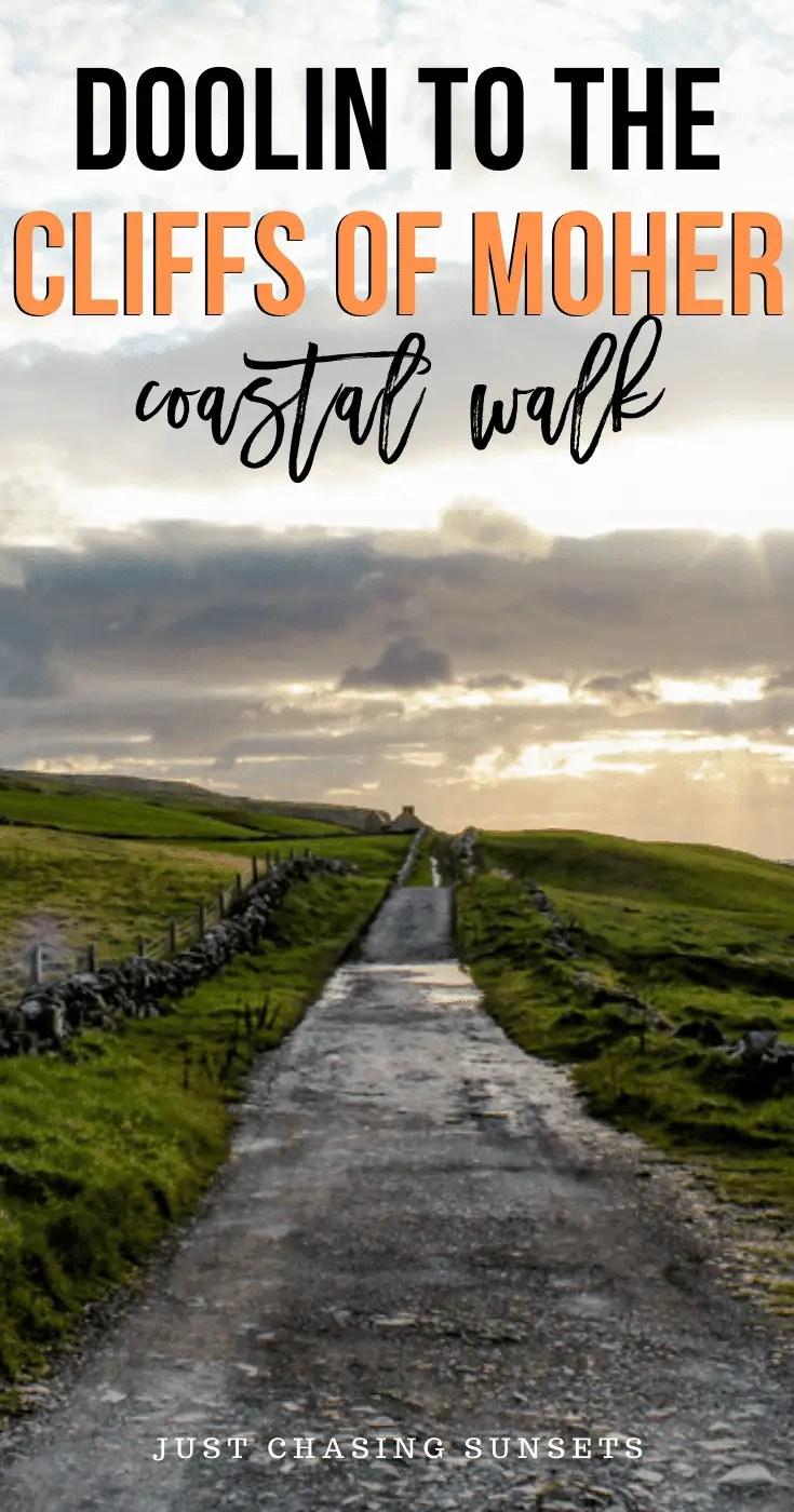 Doolin to the Cliffs of Moher coastal walk