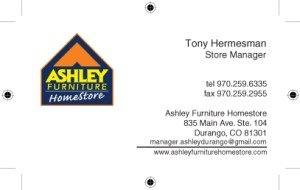 Ashley Furniture, Durango