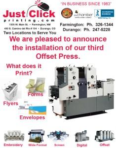 New Offset Press AD