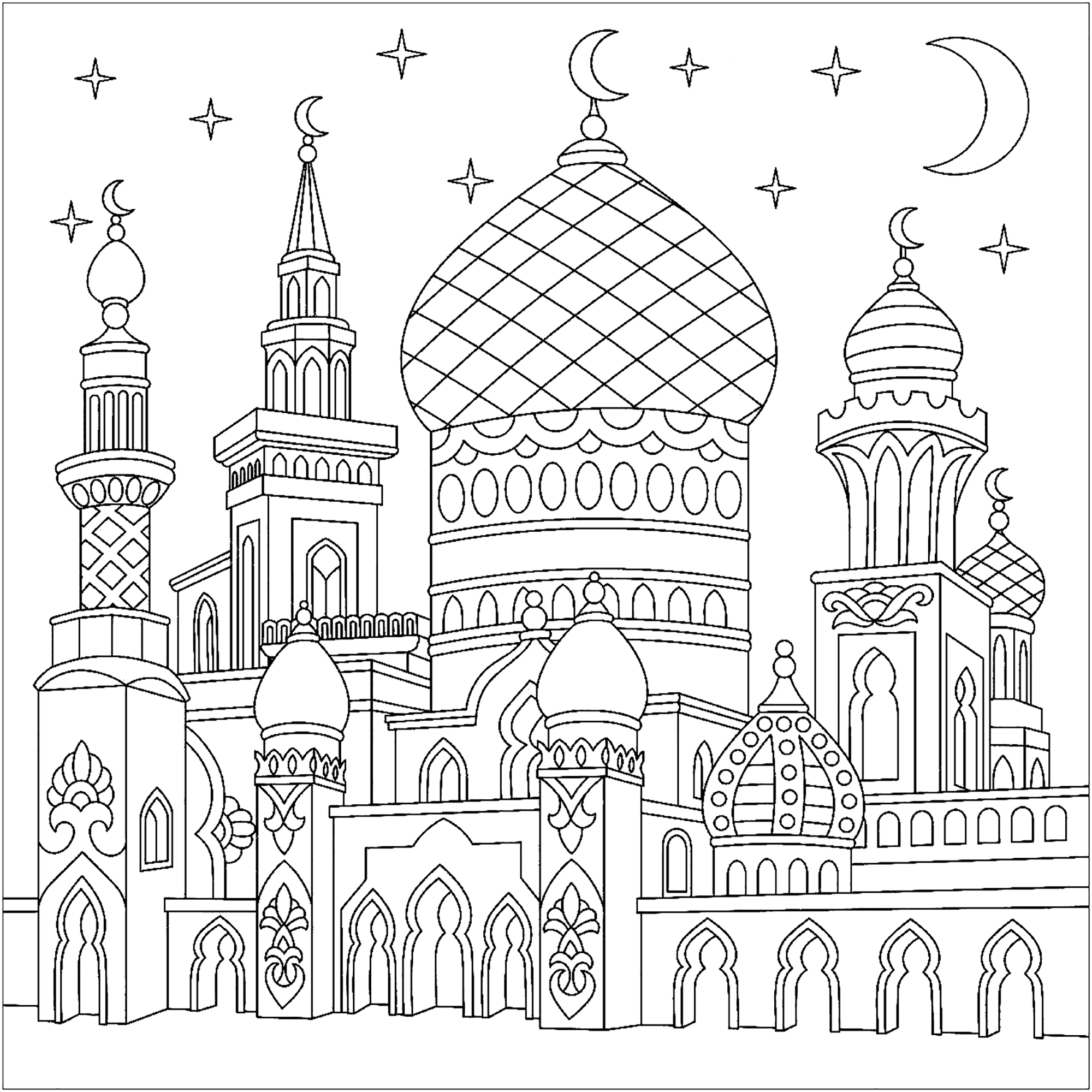 Mosquee Stylisee