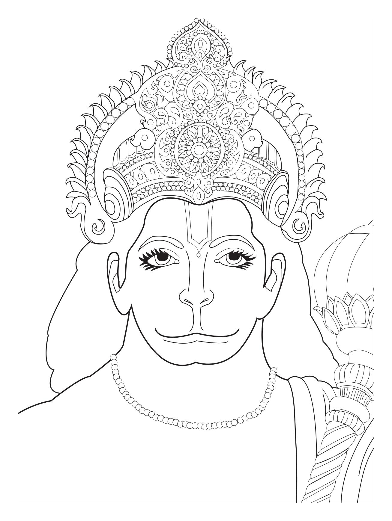 Buste Hanuman