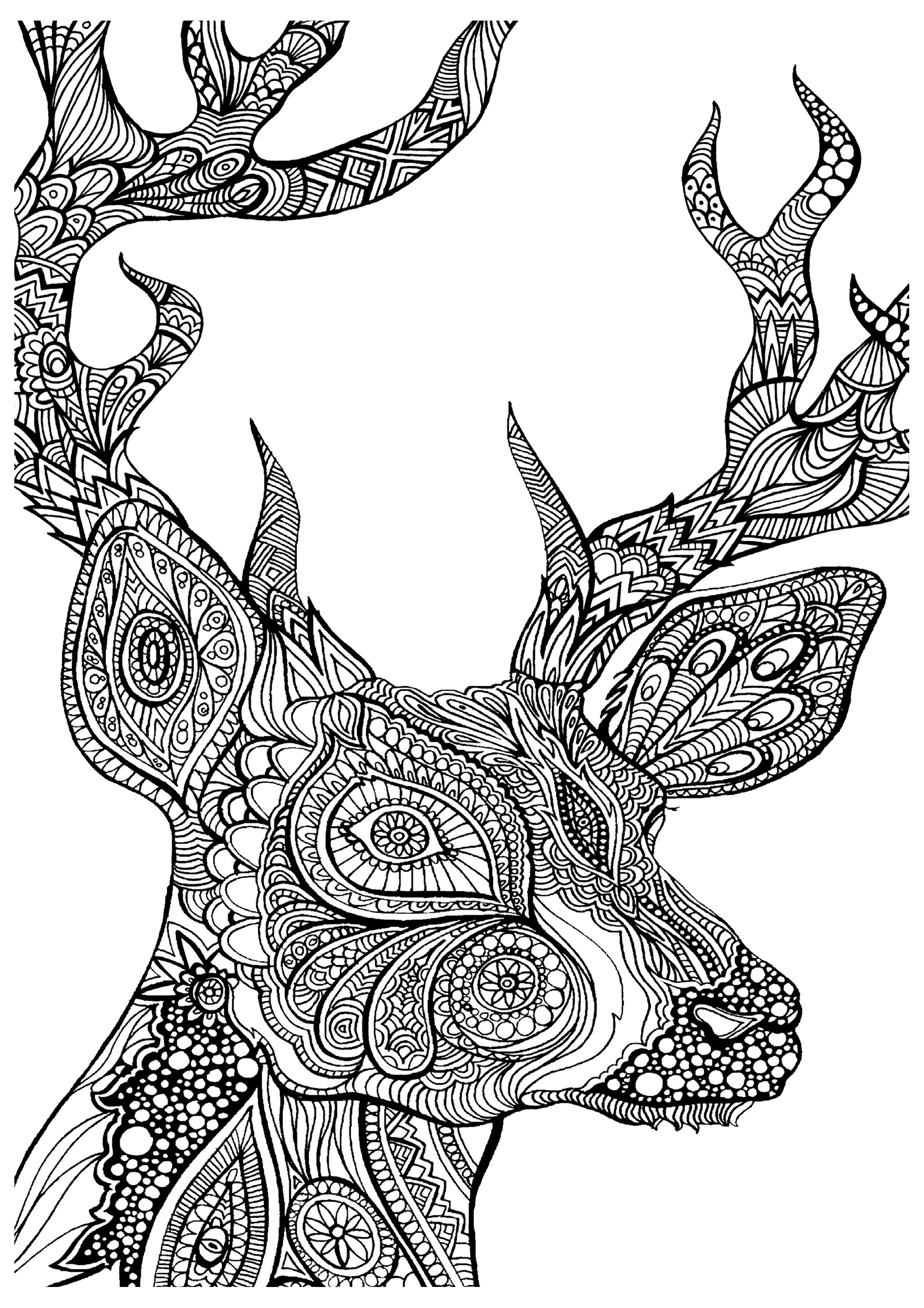 Free Adult Coloring Pages 35 Gorgeous Printable Coloring Pages To De Stress