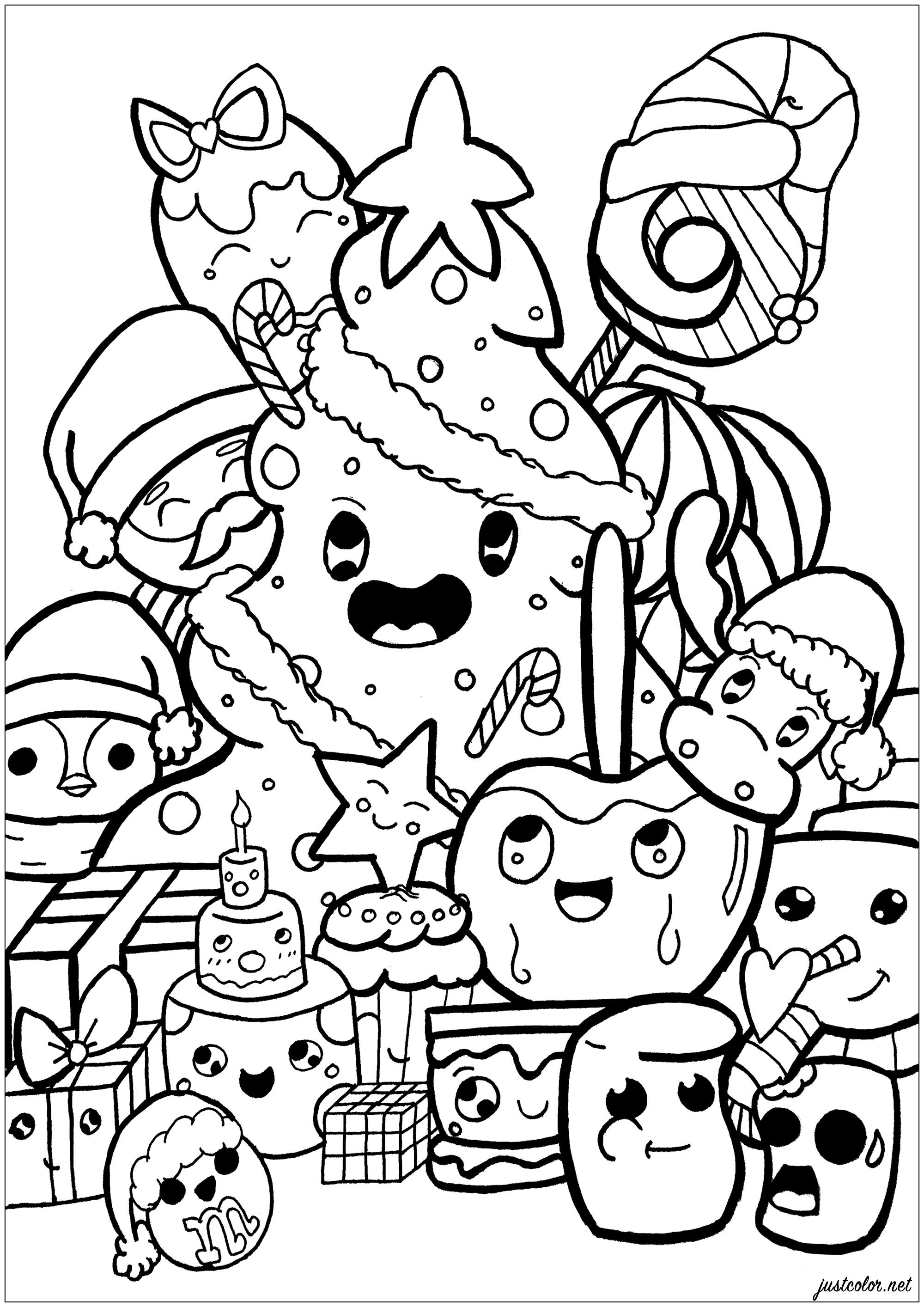 Doodle De Noel