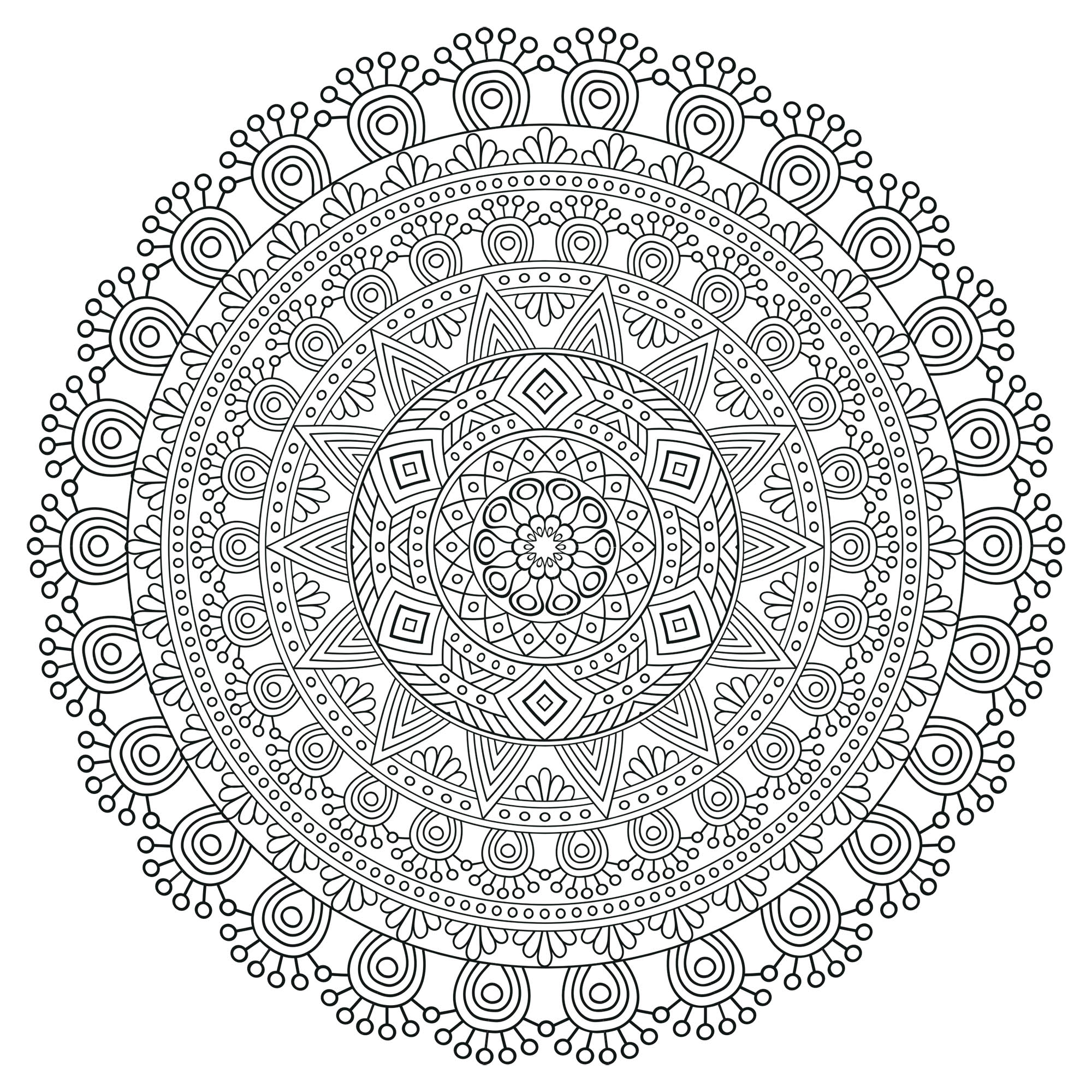 Mandala Zen Antistress 5