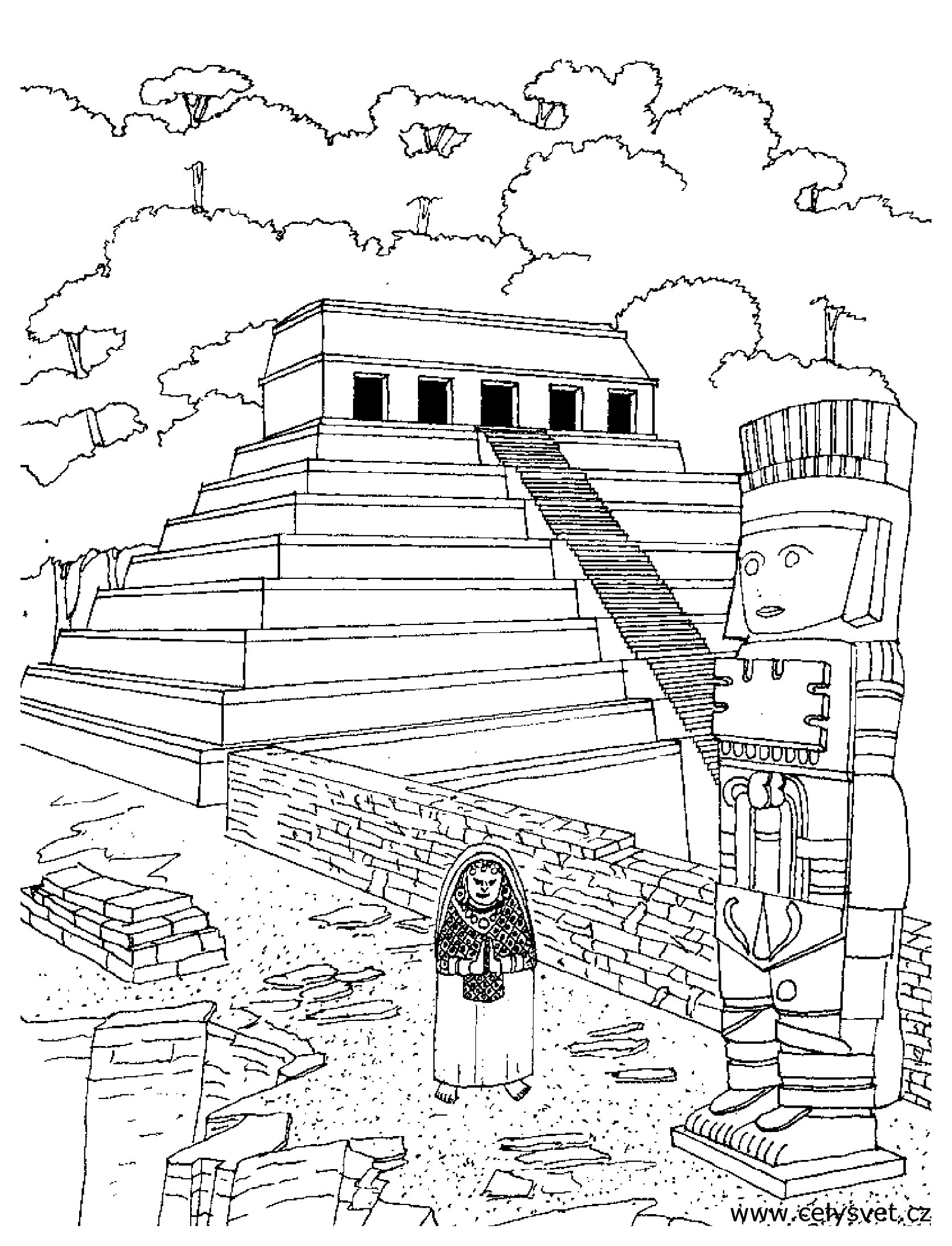 Temple Azteque