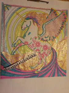 Unicorn Unicorns Adult Coloring Pages