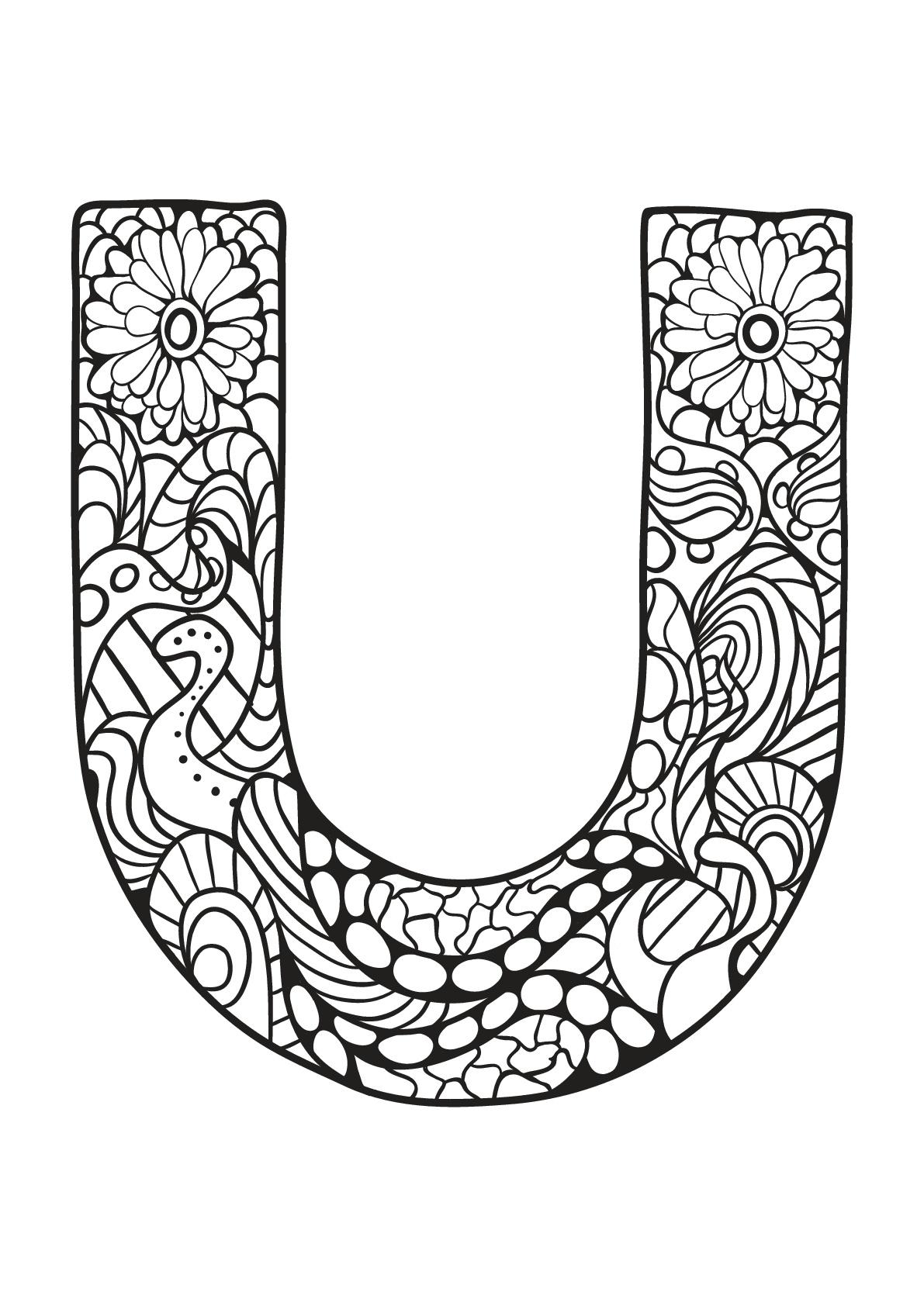 Alphabet To Print For Free