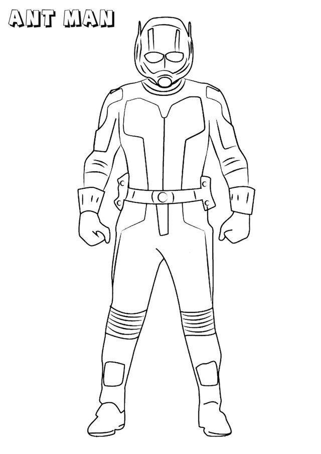 Ant Man - Ant-Man Kids Coloring Pages