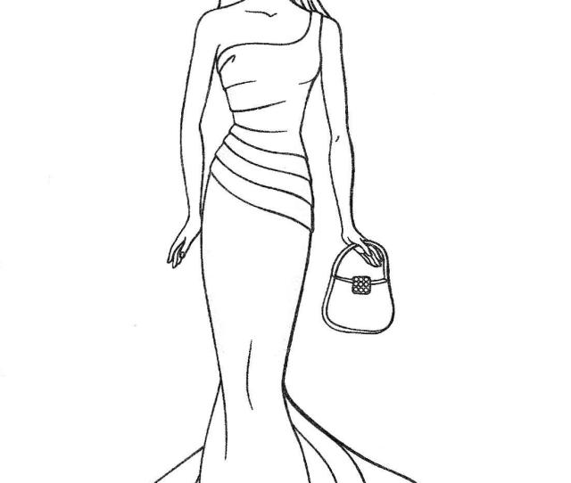 Barbie To Color For Children Barbie Kids Coloring Pages
