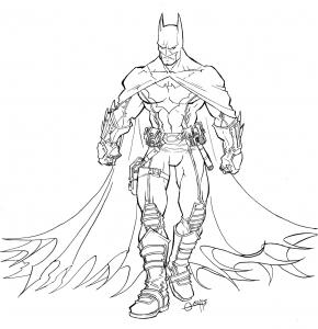 batman printable coloring pages # 16