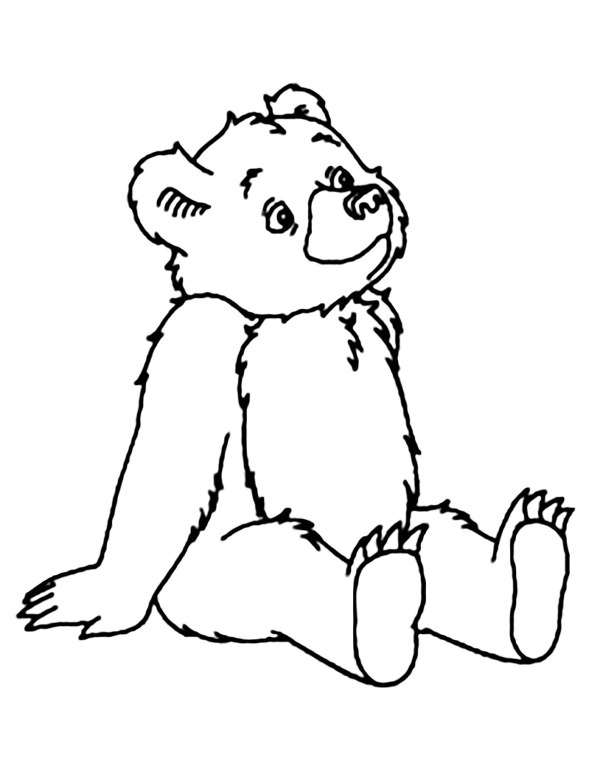 bears coloring pages # 14