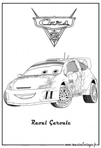 Cars 2 Free Printable Coloring Pages For Kids