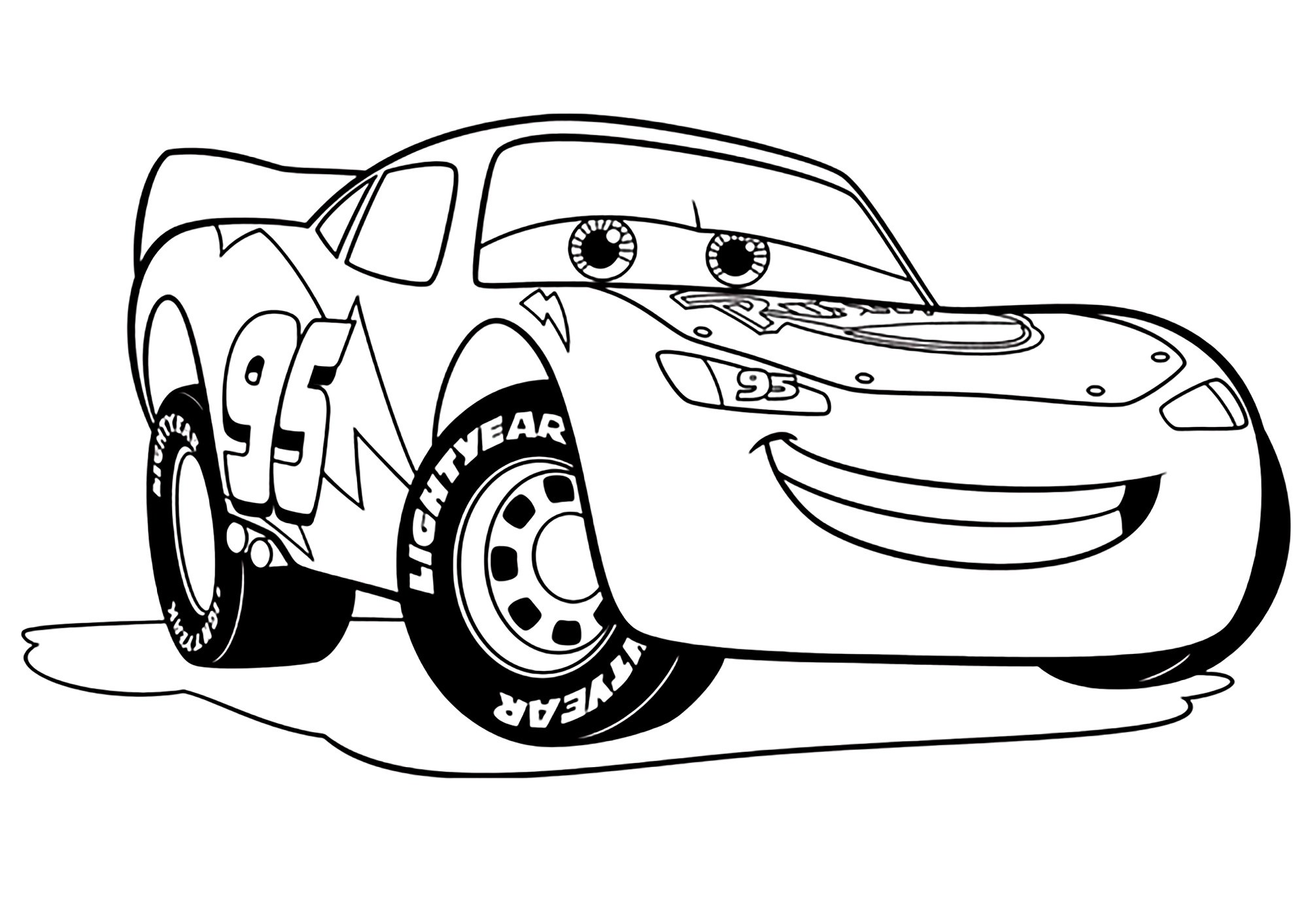 Cars 3 To Print For Free