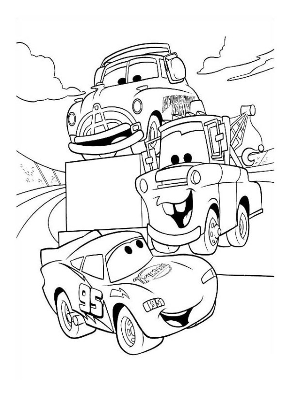 coloring page car # 41
