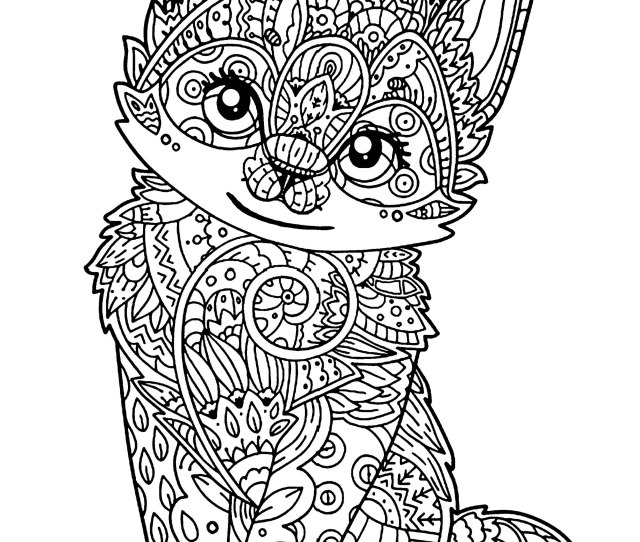 Cat For Kids Little Kitten Cats Kids Coloring Pages