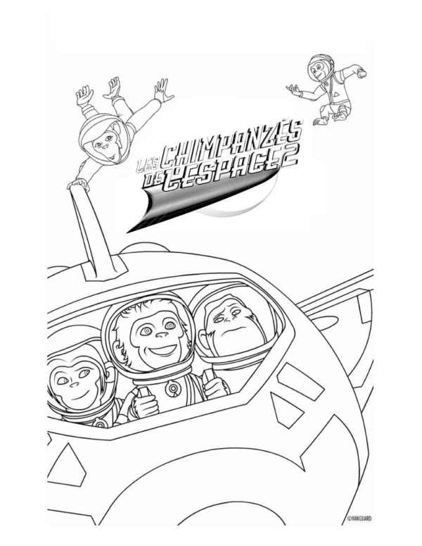 space coloring page # 26