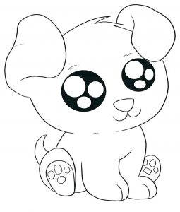 coloring pages dog # 19