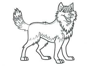 printable dog coloring pages # 6