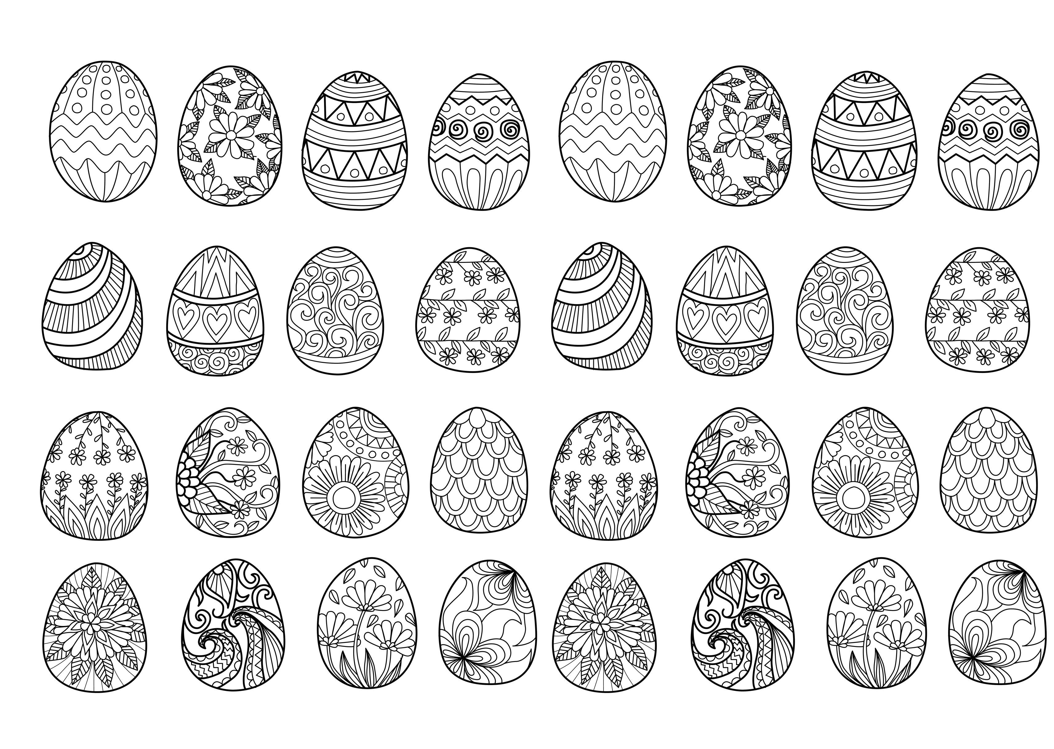 Easter To Print For Free Easter Kids Coloring Pages