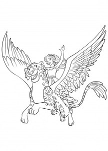 Elena Avalor Free Printable Coloring Pages For Kids